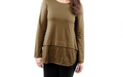 0007997 Lucy Long Sleeve Top